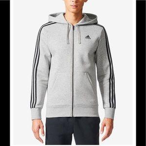 Men's Adidas essential hoodie jacket